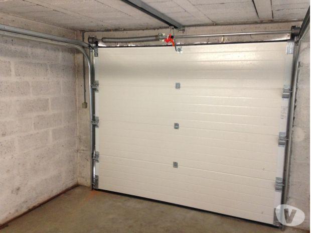 Porte de garage sectionnelle d'occasion en belgique