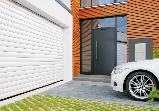Porte de garage enroulable renovation