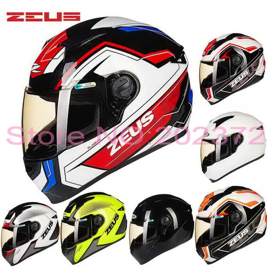 Casque moto cross zeus
