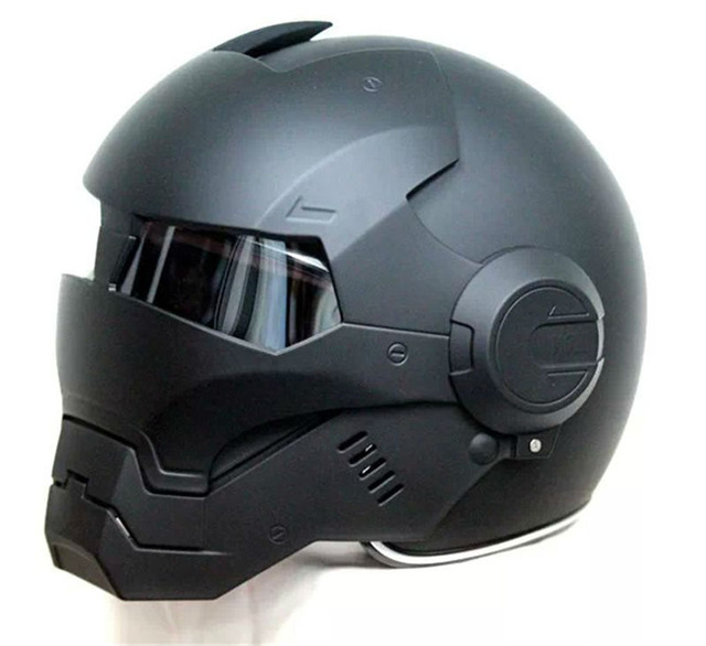 Casque moto iron man prix