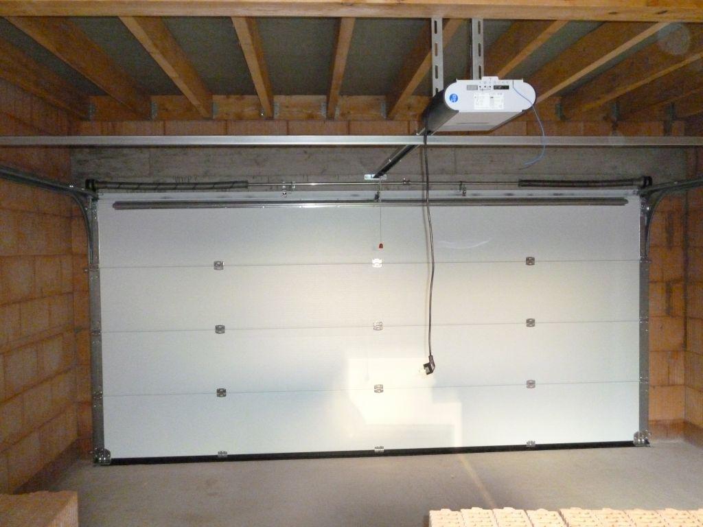 Porte de garage sectionnelle forum