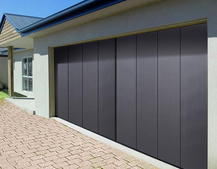 Porte de garage laterale sur mesure