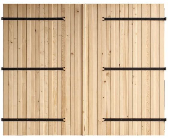 Porte de garage bois prix