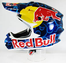 Casque de moto cross monster