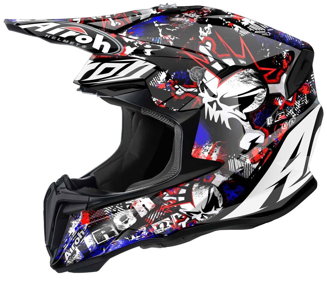 Casque motocross airoh monster