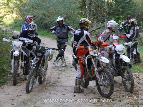 Casque moto cross enduro