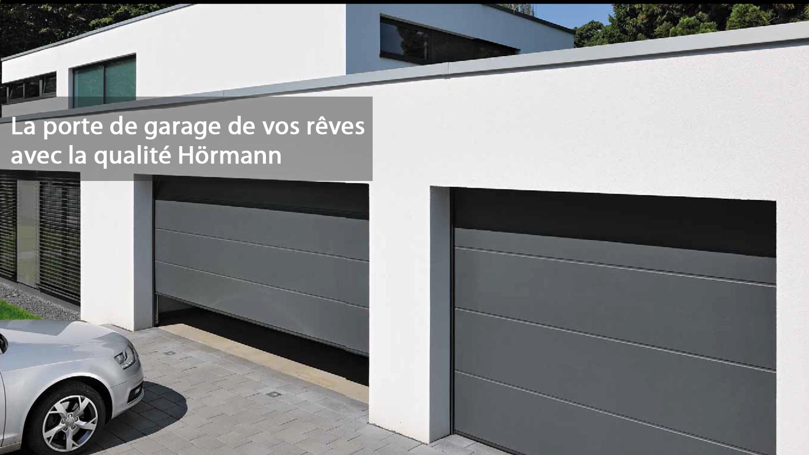 Porte de garage hormann garantie voiture moto et auto for Porte de garage n80