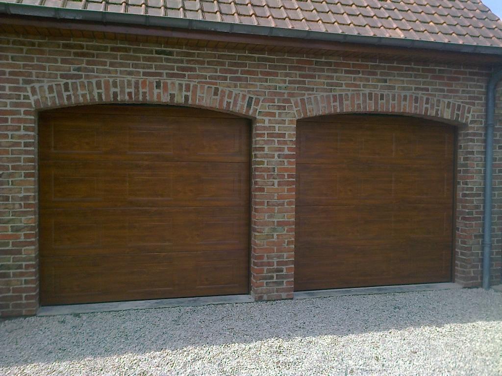 Porte de garage sectionnelle dunkerque