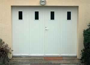 Porte de garage coulissante alu lapeyre