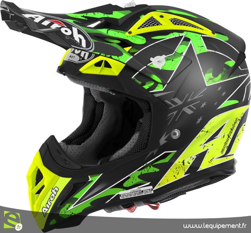 Fixation casque moto cross gopro
