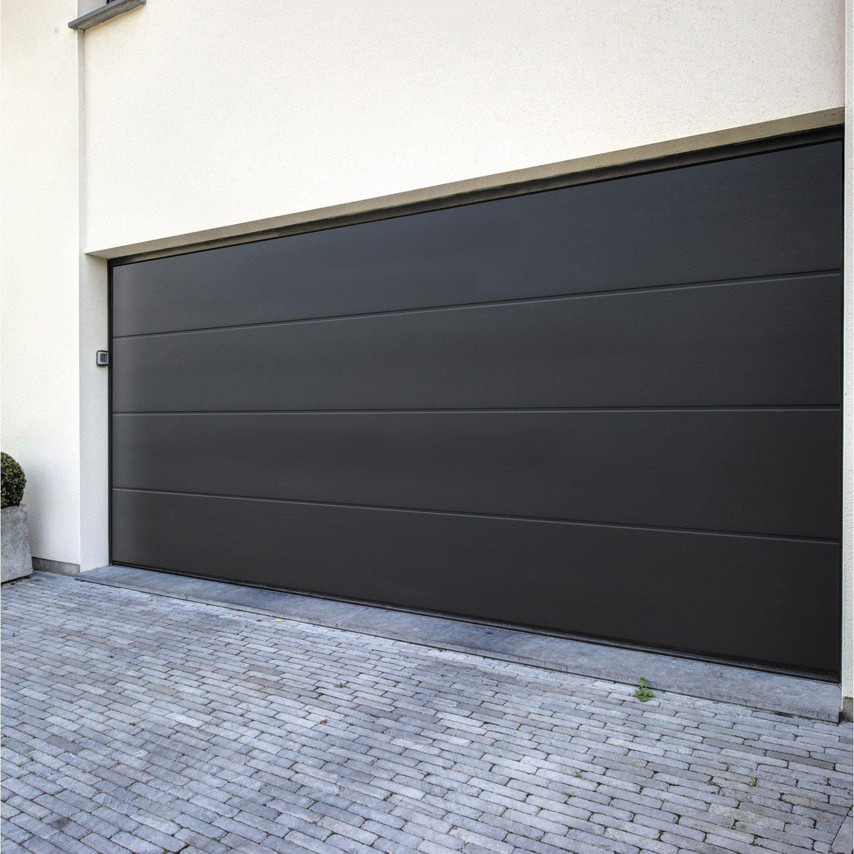 Porte de garage sectionnelle 3m voiture moto et auto Porte sectionnelle 3m