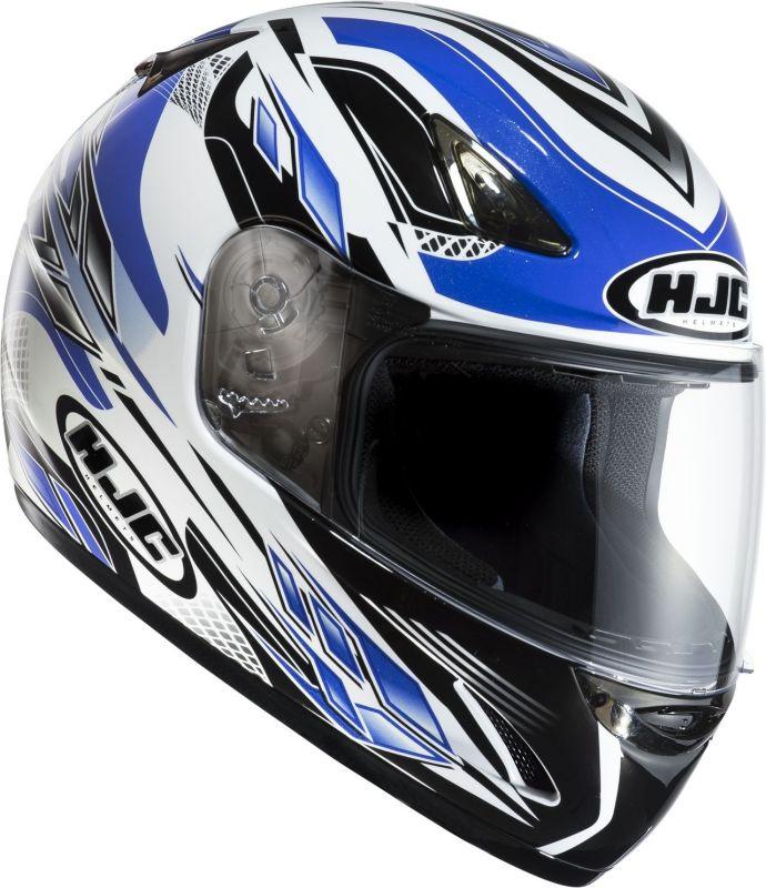 Casque Moto Intégral Bleu Noir Voiture Moto Et Auto