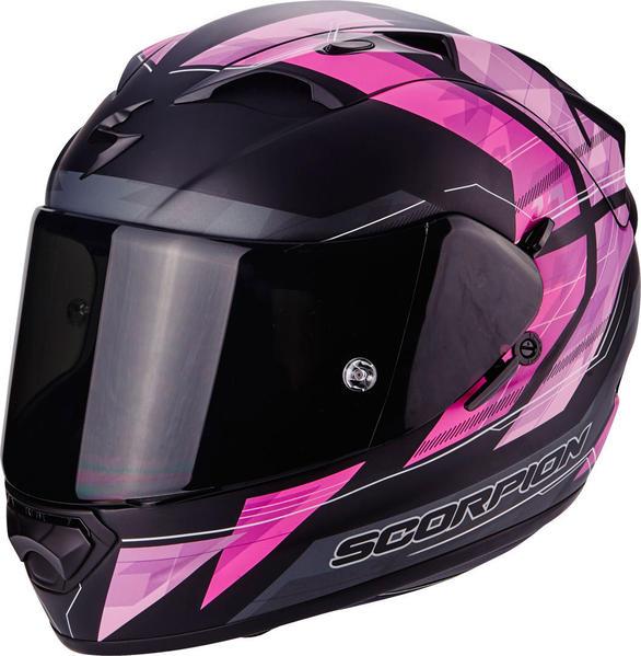 Casque moto scorpion femme