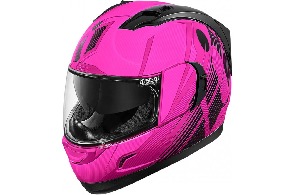Casque scooter rose