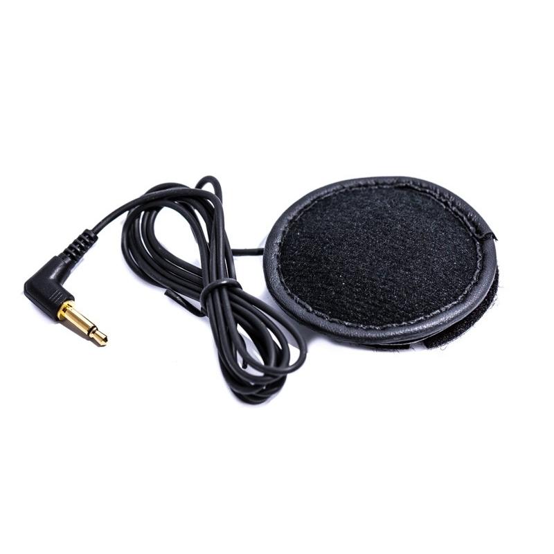 Ecouteur avec micro pour casque moto