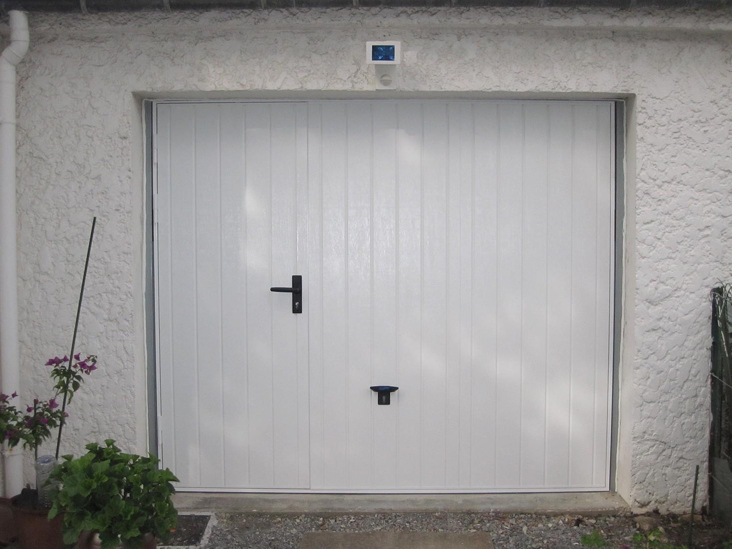 Porte de garage coulissante en pvc d 39 occasion voiture Porte de garage pas cher occasion