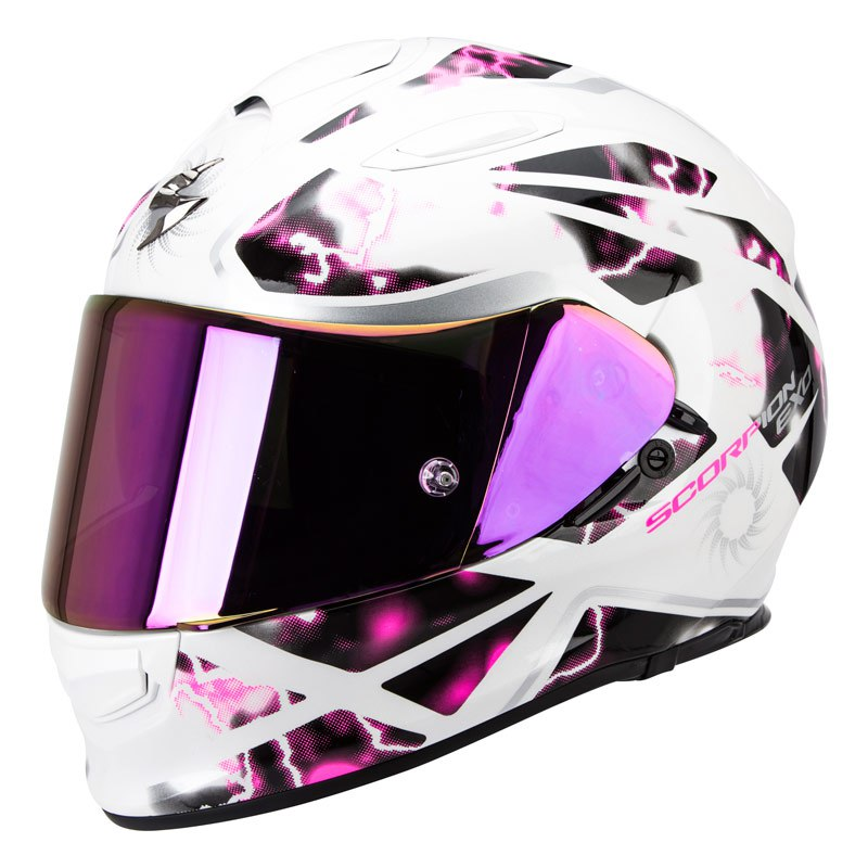 Ecran visiere casque moto scorpion