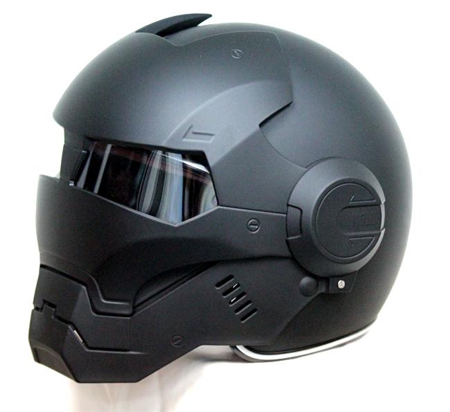 Casque moto iron man amazon