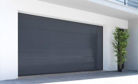 Porte de garage sur mesure somfy