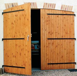 Porte de garage usagé