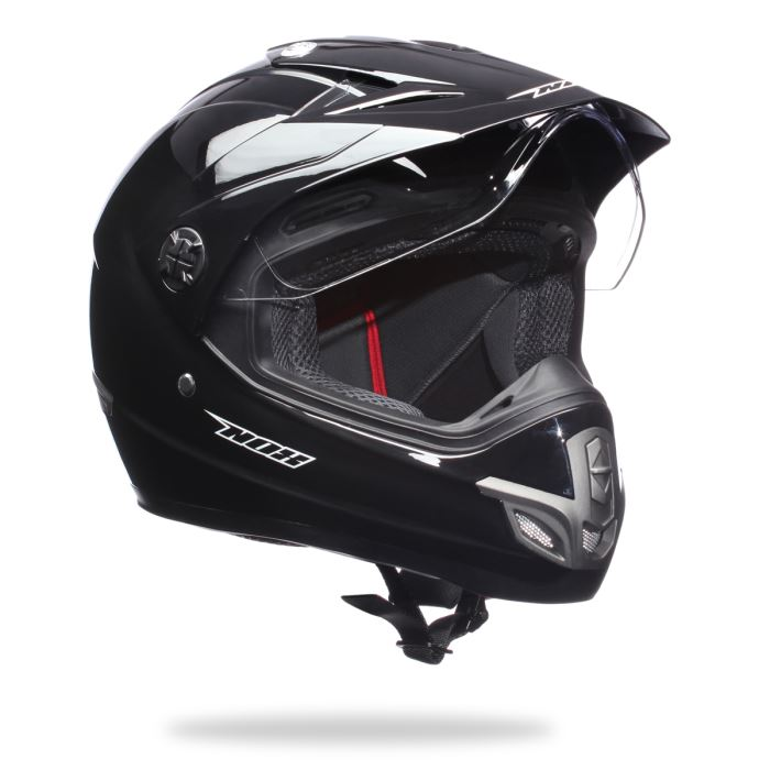Casque moto integral cross