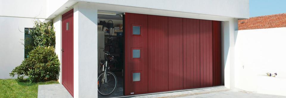 Porte de garage coulissante fabricant