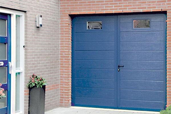 Porte de garage sur mesure pvc