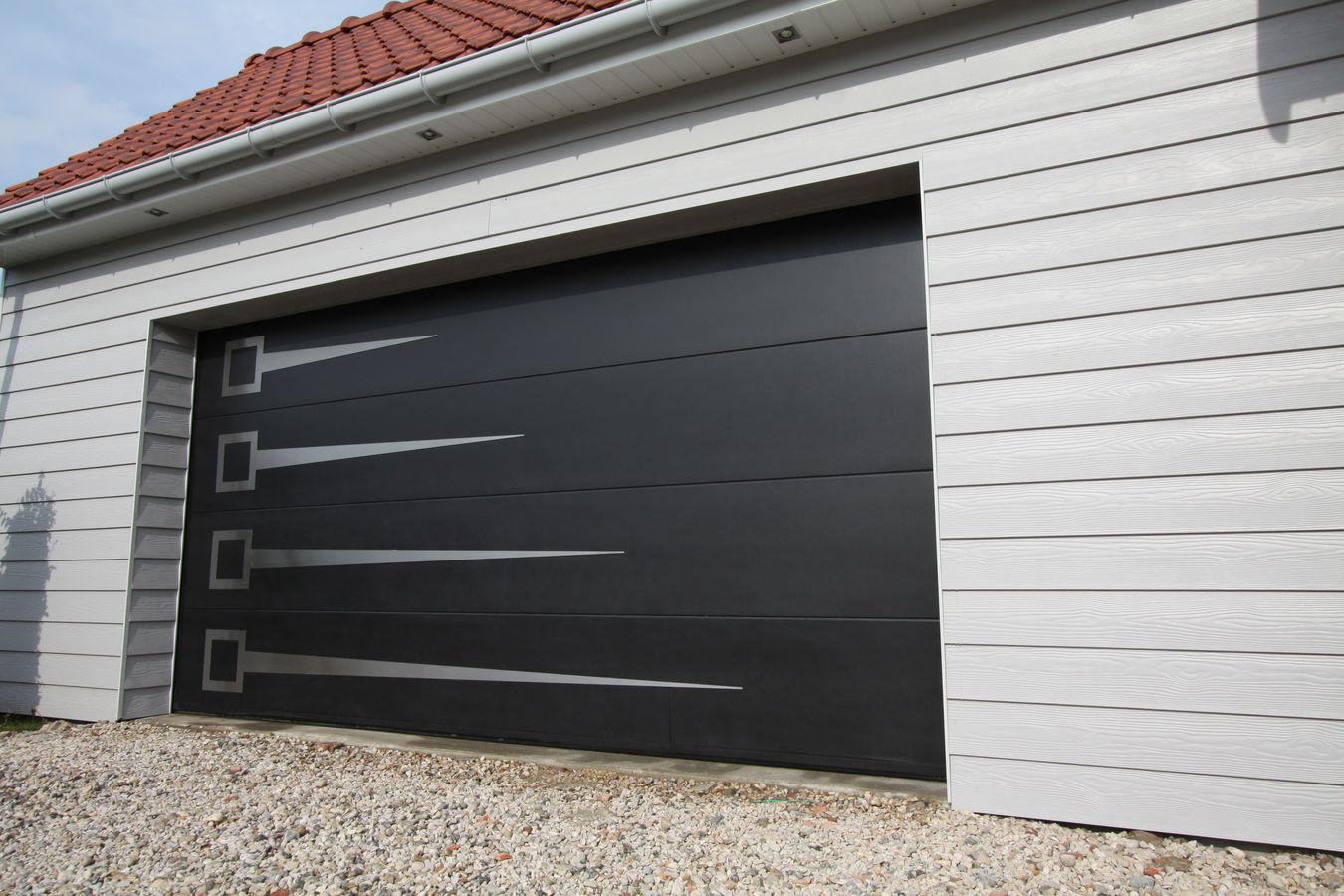 Porte de garage alu pas cher