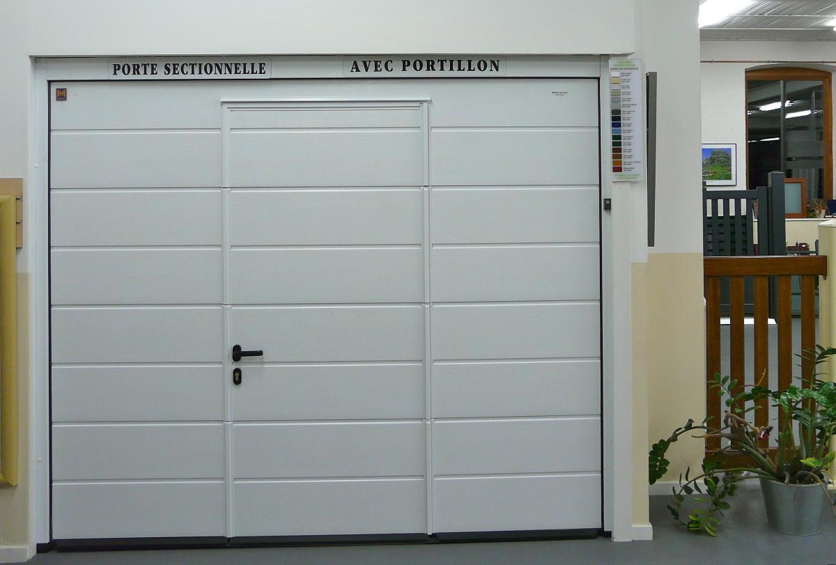 Porte De Garage Sectionnelle Motorisée En Belgique