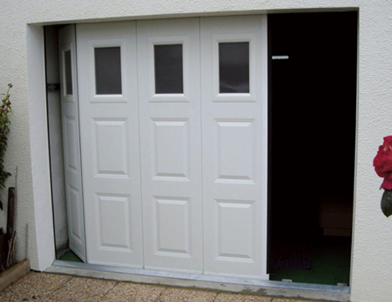 Porte de garage aluminium lapeyre