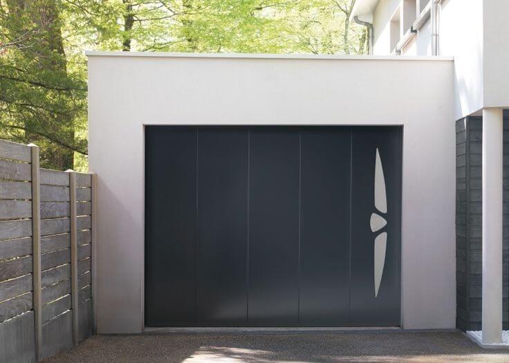 Porte de garage pvc lapeyre