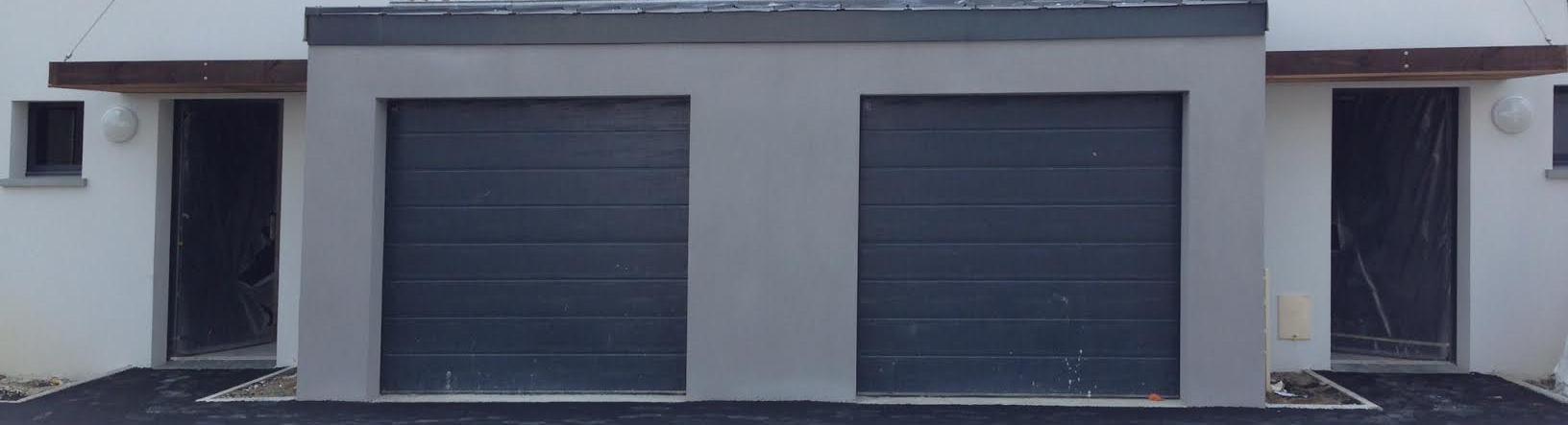 porte de garage enroulable gris 7016 voiture moto et auto. Black Bedroom Furniture Sets. Home Design Ideas