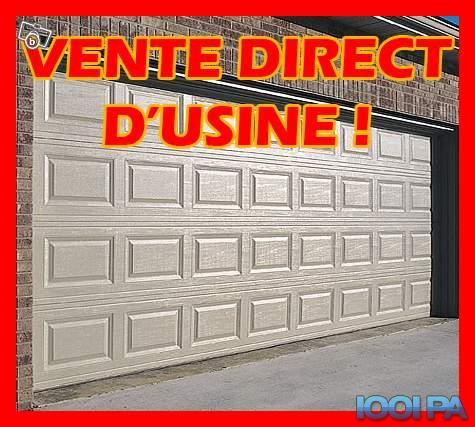 Porte De Garage Sectionnelle Non Motorisé