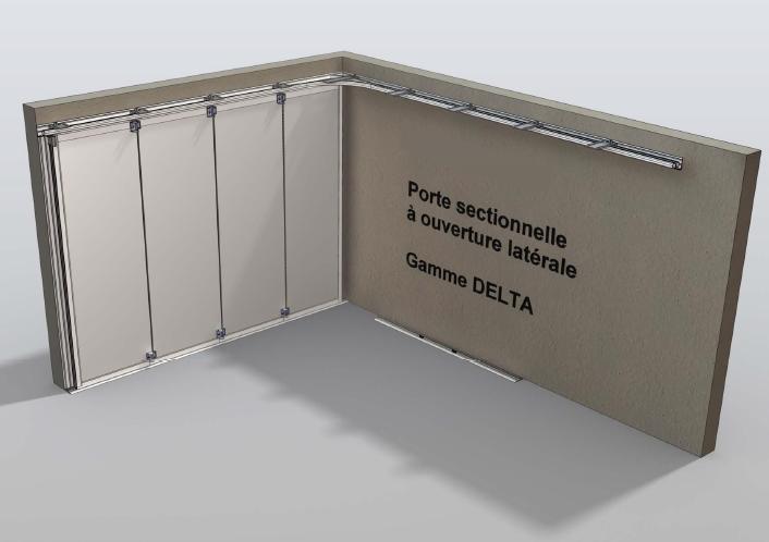 Porte de garage verticale