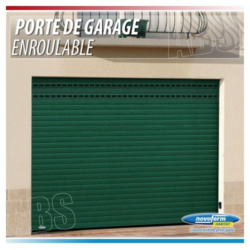 Porte de garage enroulable pose sous linteau