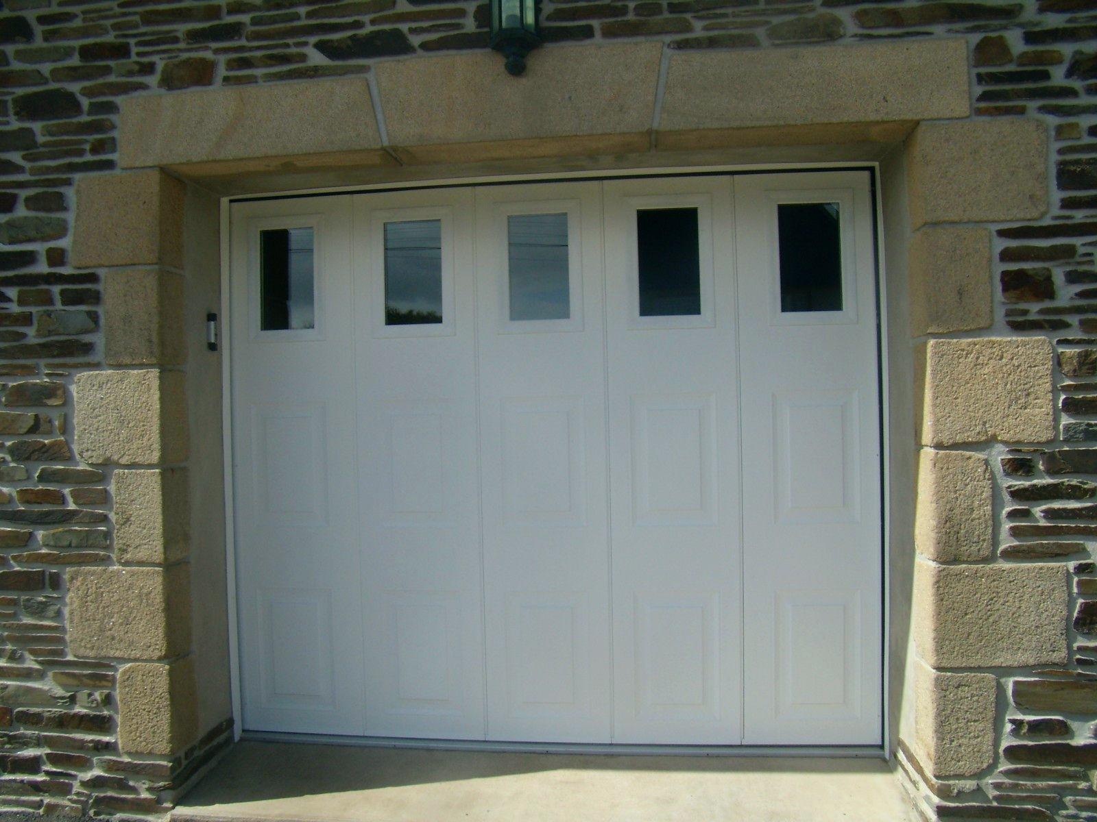 Porte de garage sectionnelle motorisée came
