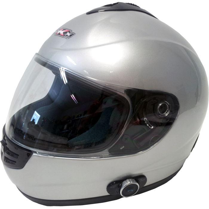 Casque moto integral bluetooth