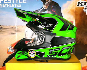 Casque moto cross xxl