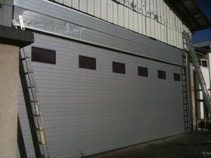 Porte de garage enroulable industrielle voiture moto et auto - Porte de garage industrielle occasion ...
