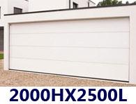Porte De Garage Sectionnelle 250 X 200