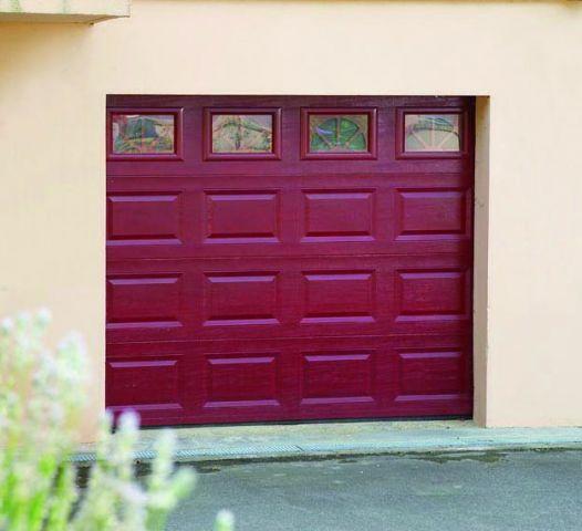 Porte de garage sectionnelle prix discount voiture moto et auto - Prix porte garage ...